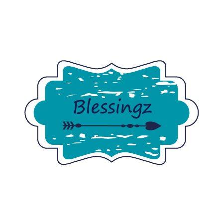 Logo Blessingz Studio Picaflor
